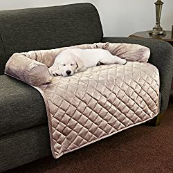 "Petmaker Furniture Protector Pet Cover With Bolster - Sage 30.5"" x 32"""