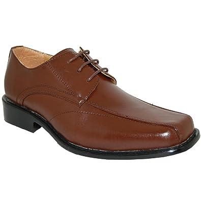 cb11020ec0e03 Shoe Artists Eco-Friendly Men's Brown Oxfords