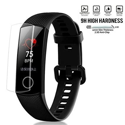 Amazon.com: (2-Pack) for Huawei Honor Band 4 Tempered Glass ...