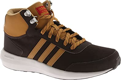 Buy adidas NEO Men s Cloudfoam Race Wtr Mid Running Shoe