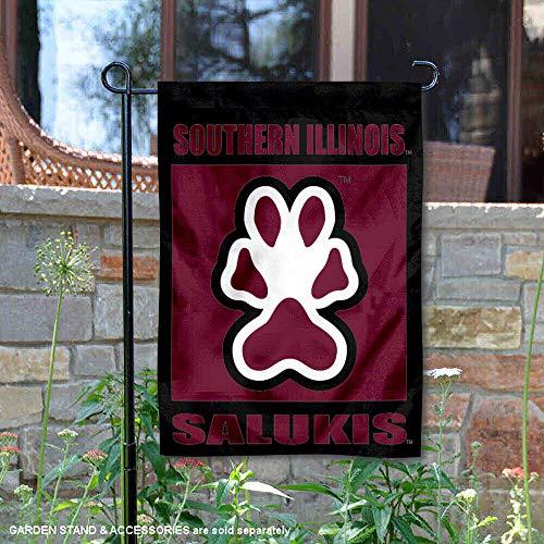Southern Illinois University - SIU Salukies Garden Flag and Yard Banner