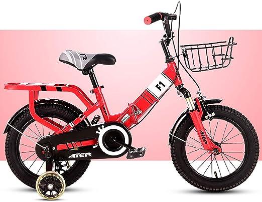 Fenfen-cz Bicicletas para niños Bicicletas Plegables Bicicleta ...