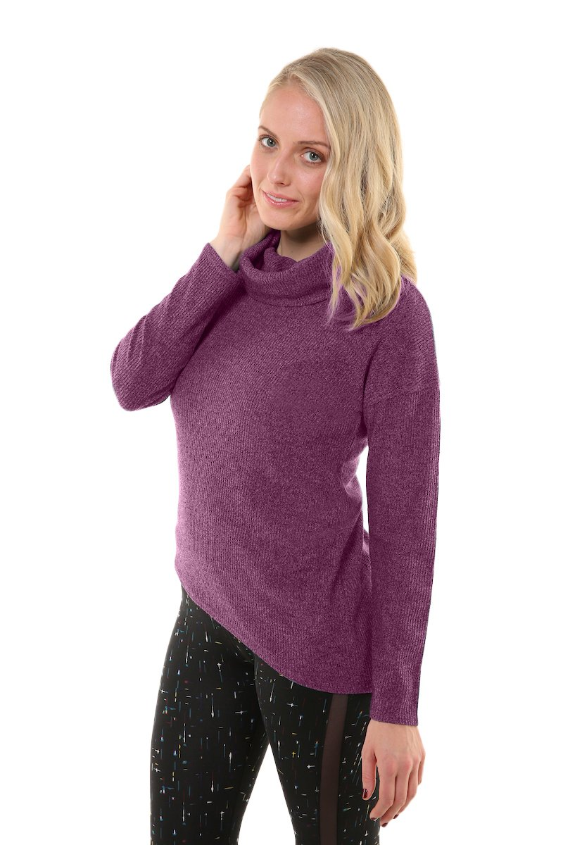 Soybu Womens Serene Sweater, Lavish, Medium by Soybu