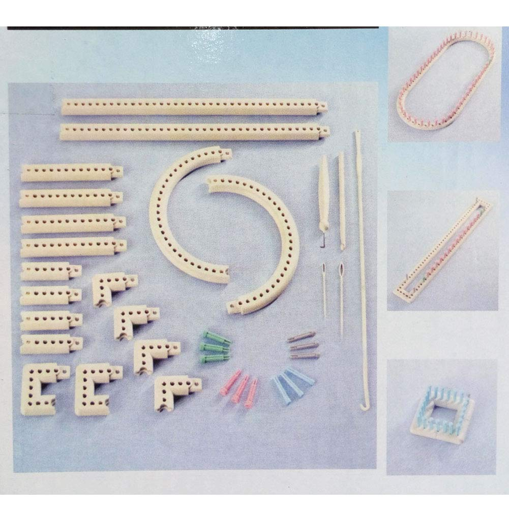 Wayion Multi-Function Craft Yarn Martha Stewart Crafts Knit and Weave Loom Kit DIY Tool by Wayion (Image #2)