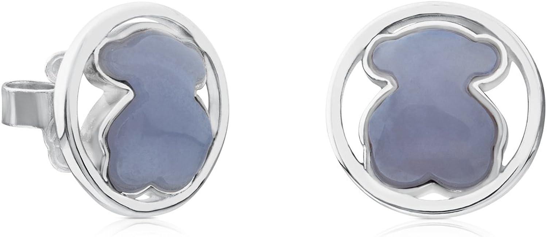 TOUS Pendientes de botón Mujer plata - 712163560