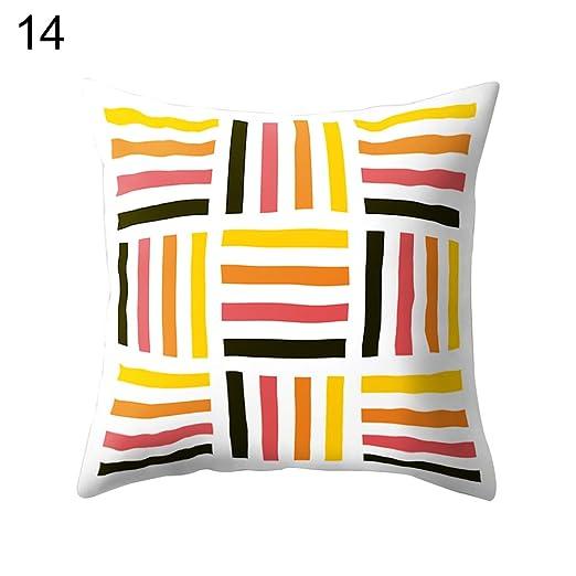 Everyday Home Decor triángulo geométrico patrón sofá cama ...