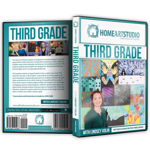 Home School Art Studio Program DVD with Lindsey Volin 3rd
