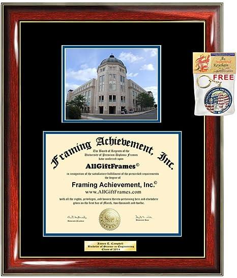 Amazon Com Diploma Frame Seton Hall University Shu Graduation Gift Idea Engraved Picture Frames Engraving Degree Cheap Graduate Bachelor Masters Mba Phd Doctorate School