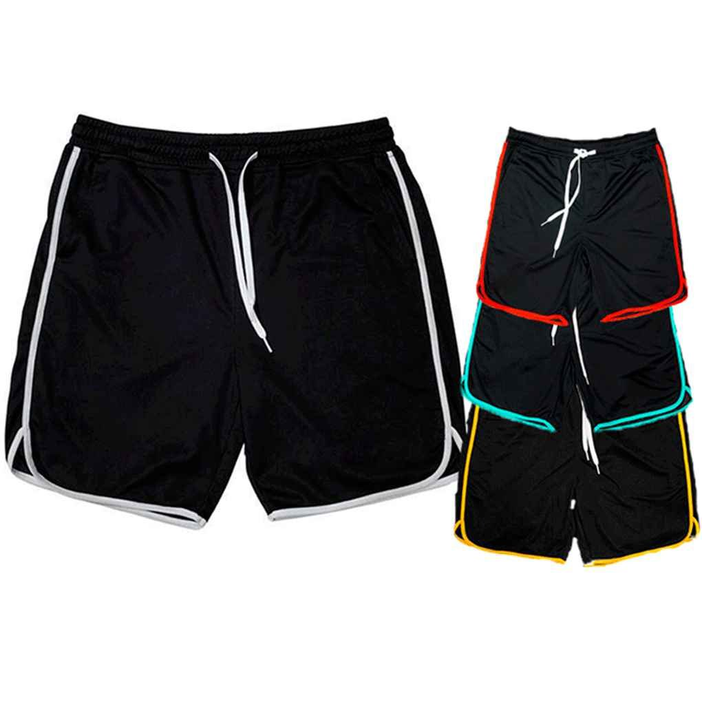 8243b6ef52 Mengonee Pantalones Cortos del Sudor de los Hombres Aptitud Que se Ejecuta  Pantalones Cortos de capacitación Transpirable Pantalones de los Deportes  ...