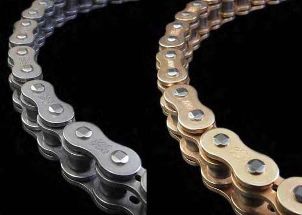 EK Motor Sport ''EK Chain 525 SRX2 Series Chain - 120 Links - Gold