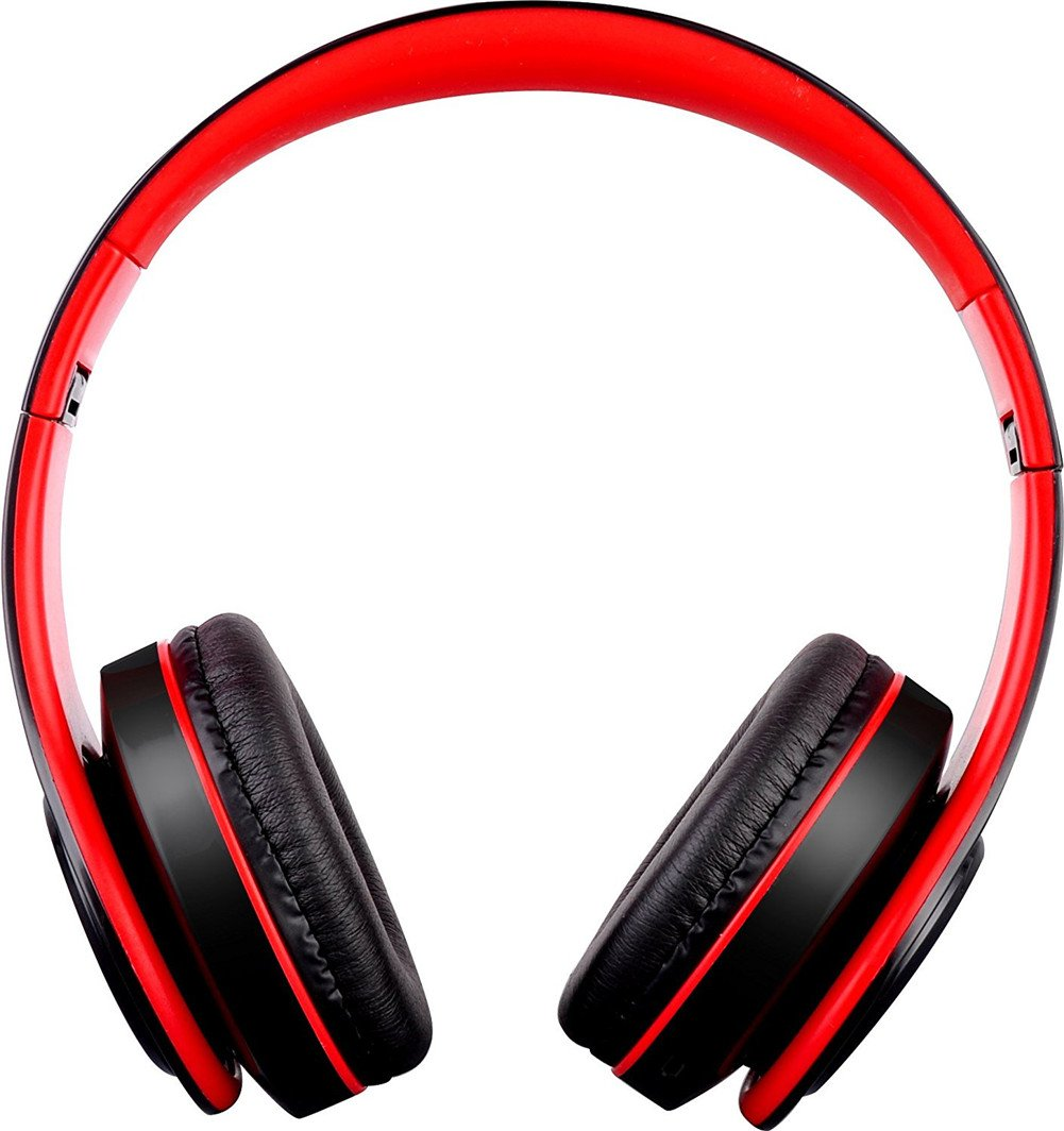 Deerbird® Auriculares Bluetooth plegable 3,5 mm jack auriculares inalámbricos con FM radio auriculares estéreo de micrófono HD para teléfono celular TV PC ...