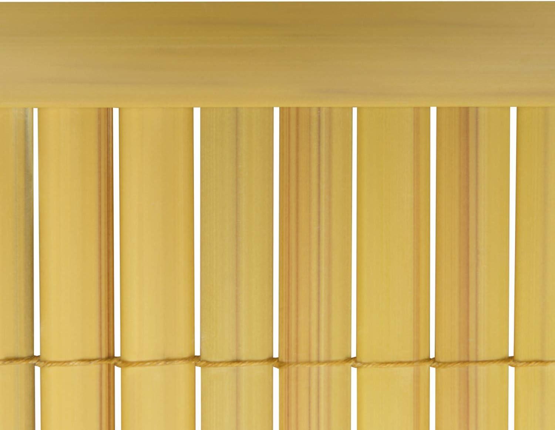 Sol Royal SolVision P14 - PVC Listón cobertor Protector para Vallas o toldos de protección Visual - 100 cm Bambú: Amazon.es: Hogar