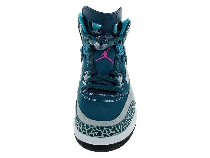 Amazon.com   Jordan Nike Mens Spizike Spc Blue/Fsn Pink/Wolf Grey/Trpcl T Basketball Shoe 9 Men US   Basketball