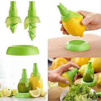 Yosoo Citrus Spray, pulverizador de zumo de limón exprimidor amarillo limón, exprimidor de fruta