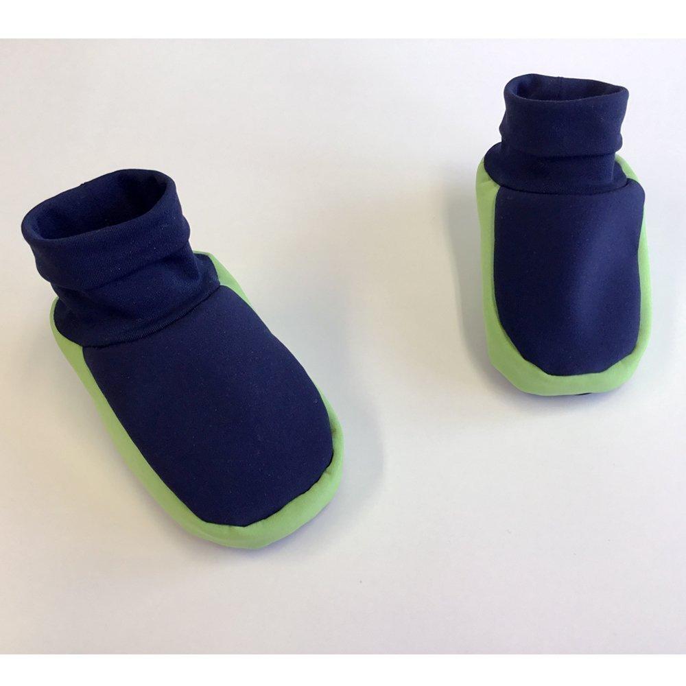 Robuste leicht wasserabweisende Softshell Babyschuhe Krabbelschuhe zum Buddeln Gr/ö/ße 14-23 pflegeleichte handmade F/ü/ßlinge f/ür Baby 0-14 Monate