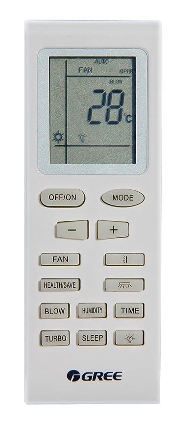 unical telecomando  Telecomando Gree YB1FA per condizionatori Ferroli, Argo, Vaillant ...