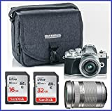 Cheap Olympus OM-D E-M10 Mark III (Mark 3) Digital Camera [Silver] + M.Zuiko Digital ED 14-42mm f/3.5-5.6 EZ Lens (Silver) + M.Zuiko Digital ED 40-150mm f/4.0-5.6 R Lens (Silver)