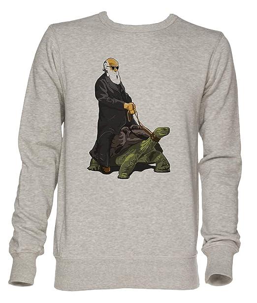 Galápagos Estilo Unisexo Gris Jersey Sudadera Hombre Mujer Tamaño XXL | Unisex Jumper Sweatshirt For Men and Women Size XXL: Amazon.es: Ropa y accesorios