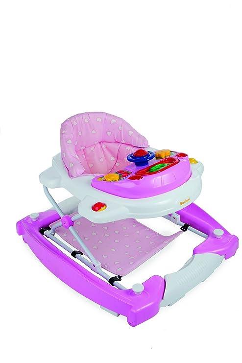 baninni Classic bn138 - Andador para bebé Claro Rosa: Amazon ...