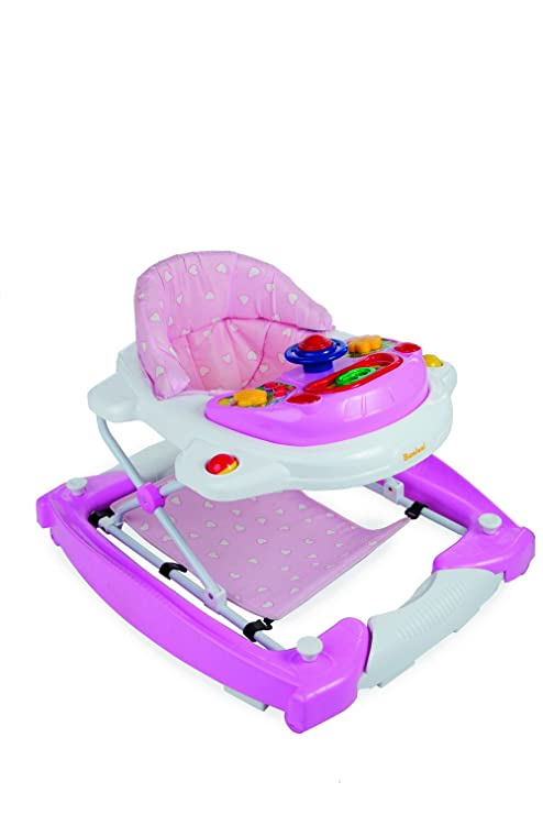 baninni Classic bn138 - Andador para bebé Claro Rosa: Amazon.es: Bebé