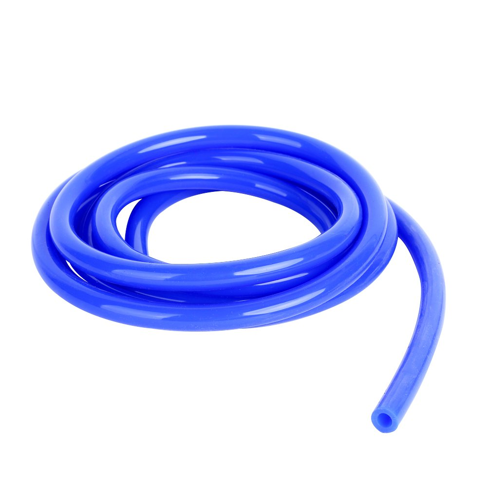 WISAUTO Blue Color 10FT Length High Temperature Silicone Vacuum Tubing Hose ID:3MM