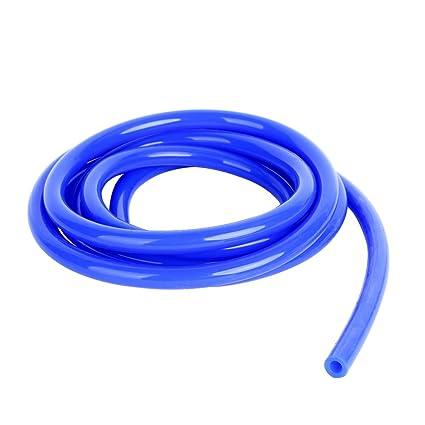 1//12 Inch Upgr8 Universal Inner Diameter High Performance 5 Feet Length Silicone Vacuum Hose Line , Blue 2MM