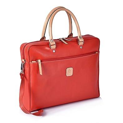 EL CABALLO Porta Documentos Rojo 1000 Outlet Carpeta de mano Mujer - Portadocumentos para Mujer: Amazon.es: Zapatos y complementos