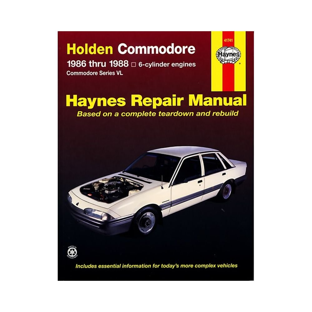 Holden Commodore (86 - 88): 1986 to 1988 (Haynes Automotive Repair Manuals):  Amazon.co.uk: Tim Imhoff, J. H. Haynes: 9781563922664: Books