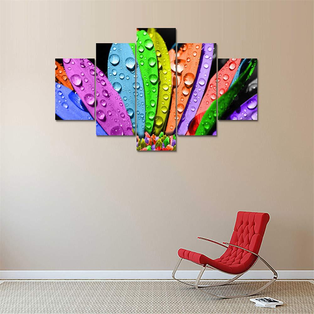 SUYUN Pintura Decorativa, Cinco Pintura al óleo de inyección de ...