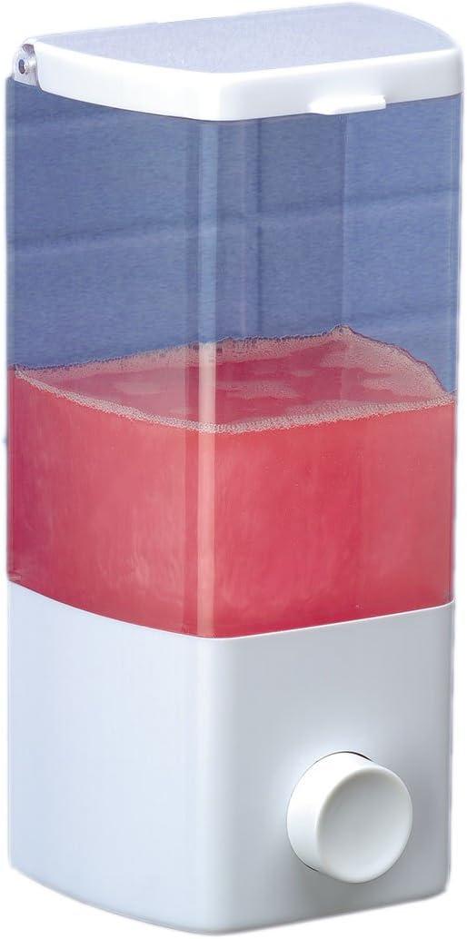 Rayen Dispensador de jabón, 1 Compartimento, Blanco: Amazon.es: Hogar