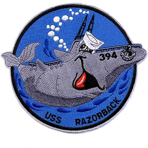 SS-394 USS Razorback Grey Whale Small Patch