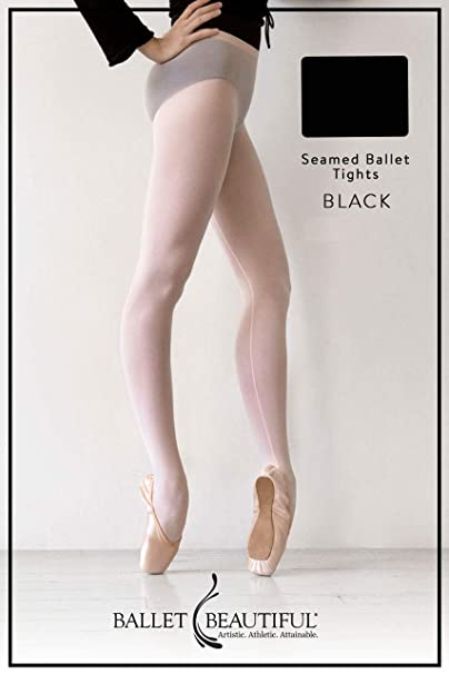 841e0bf6a8a5b Women's Seamed Ballet Tights at Amazon Women's Clothing store:
