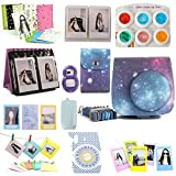 Nodartisan 12 in 1 Instax Mini 8/8+ Accessory Bundles (Galaxy Mini 8 Case/Photo Case/Album/Hang Album/Lens/Filters/Film Frames/Hang Frames/Film Sticker/Camera Sticker/Battery Cover/Film Pouch)