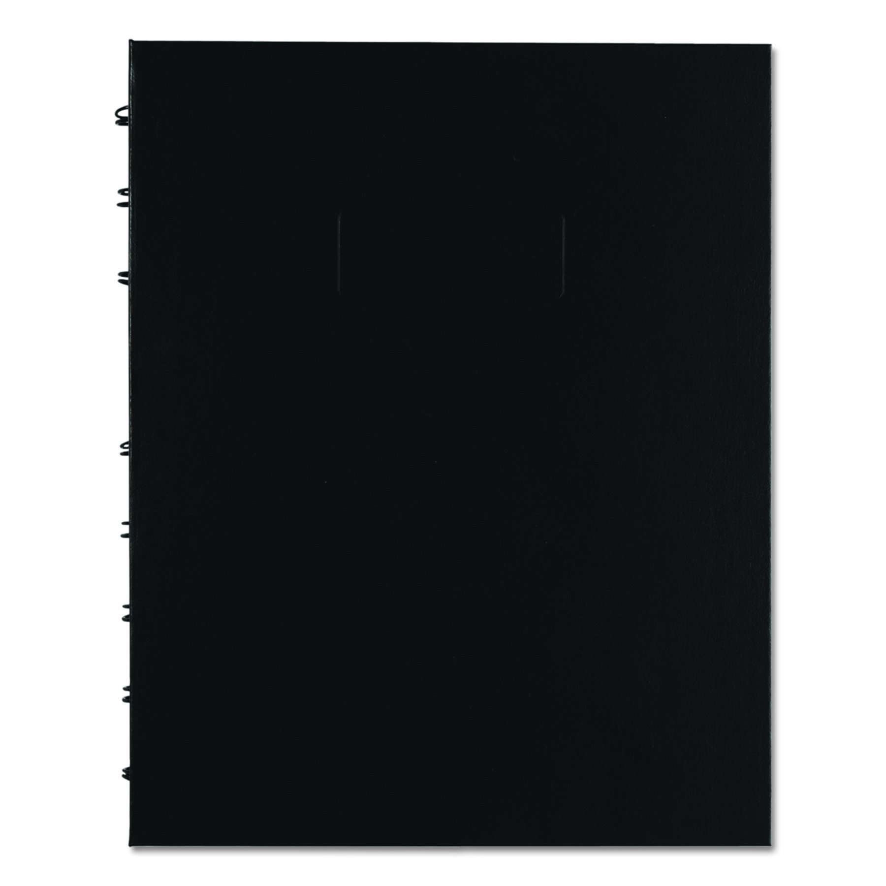 BLUELINE NotePro Quad & Ruled Notebook, Black, 9.25 x 7.25 inches, 192 Pages (A44C.81)