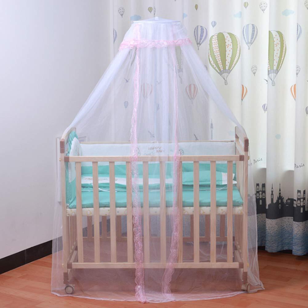 Malla mosquitera para Cuna de beb/é mosquitera de beb/é mosquitera de Encaje Plegable para Cuna y Cuna