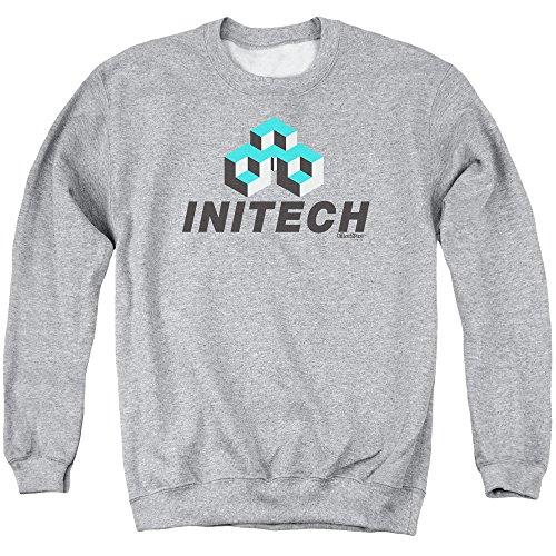 Office Space - Initech Logo Adult Crewneck Sweatshirt