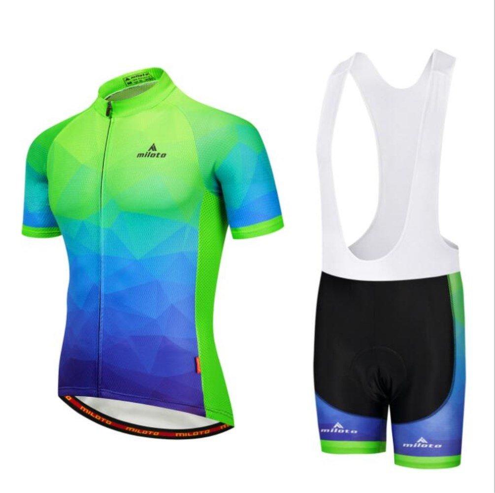 MYLEDI Fahrradbekleidung Atmungsaktive Rutschfeste Dämpfung Männer Und Frauen Outdoor-Sport Verwenden,Weiß,XXXXL
