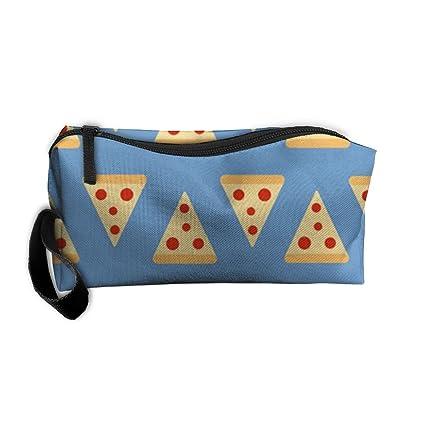 Pizza patrón Tumblr de viaje para maquillaje bolsa de ...