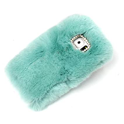 info for 0a3c6 766cf Fantastic Galaxy S7 Edge Fur Cases,Rejected all traditions Lovely Diamond  Bow Bling Furry Rabbit Fur Shiny Plush Fluffy Soft Warm Case Back Cover for  ...