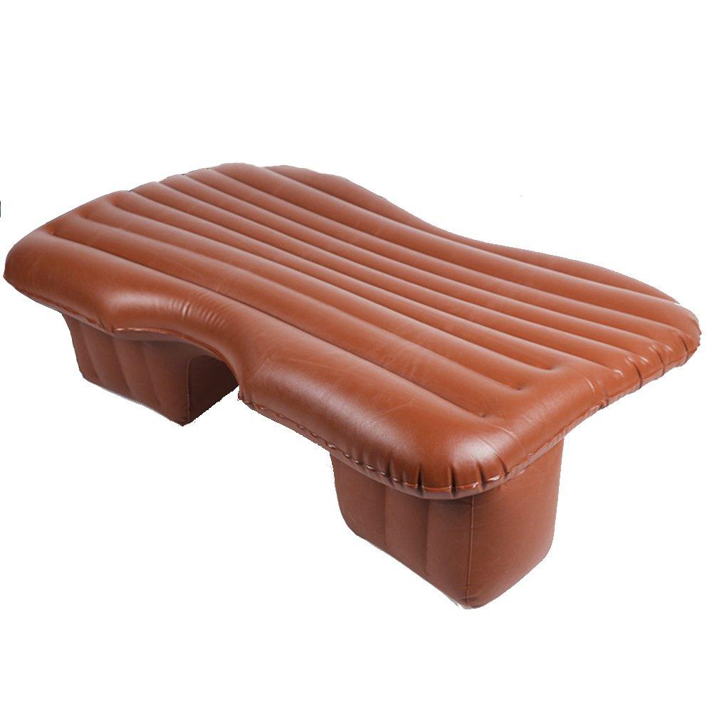 エアベッド - インフレータブルマットレスベッドTPU旅行エアパッド車の屋外シートキャンプの釣り // (色 : Brown)  Brown B07JN494BX