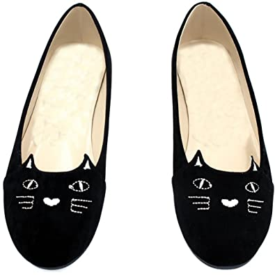 7dc3944ad56 Comfity Women s Velvet Embroidered Smoking Slippers Slip On Comfortable  Loafer Shoes Flats