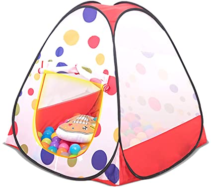 cb9a0362 Buy Webby Pop Up Beach Play Tent House for Kids Online at Low Prices in  India - Amazon.in