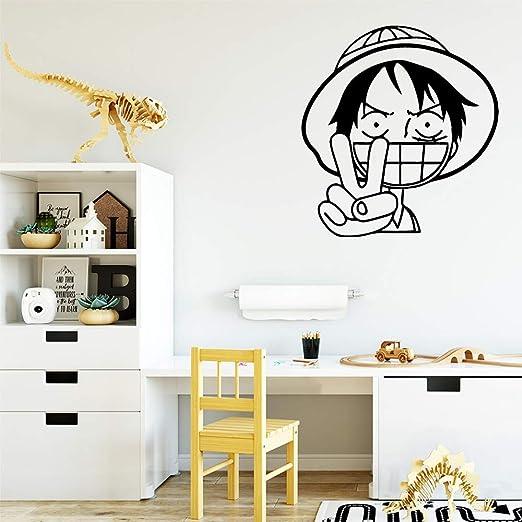 zxddzl Estilo de Dibujos Animados de una Pieza Luffy PVC Tatuajes ...
