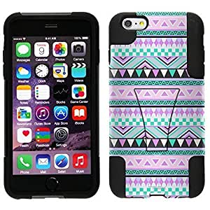 Trek Hybrid Stand Case Aztec Andes Mauve and Teal Pattern for iphone 5 5s case WANGJING JINDA