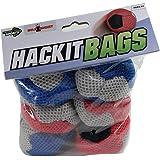 BULZiBUCKET Hacky Sacks 6 Pk. Hand Woven Hacky Sacks Next Generation Cornhole Game, Also Used for Hand Juggling, Foot volley'