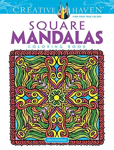 Creative Haven Square Mandalas Coloring Book (Creative Haven Coloring Books)