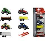 Majorette 212057420–Farm Lot de 2assortis véhicule, Lot de 4