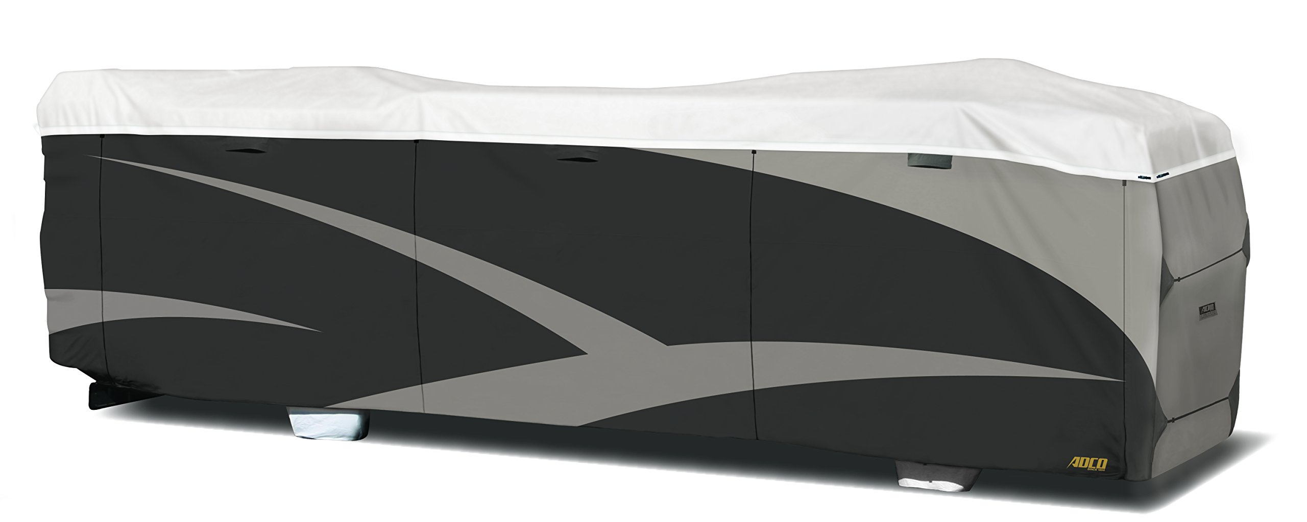 ADCO 34824 Designer Series Gray/White 28' 1'' - 31' DuPont Tyvek Class A Motorhome Cover by ADCO