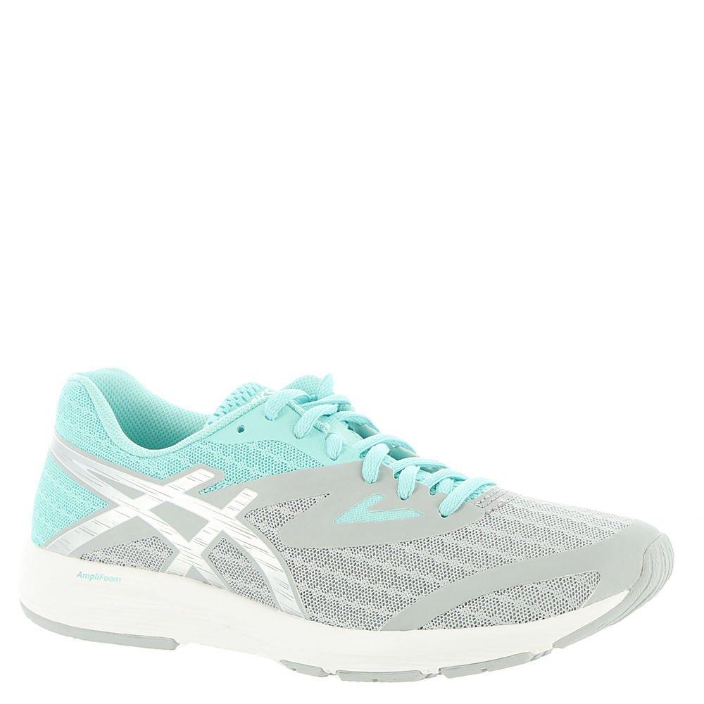 ASICS Women's AMPLICA Running Shoe B072BWCVZX 9.5 B(M) US|Mid Grey/Silver/Aruba Blue
