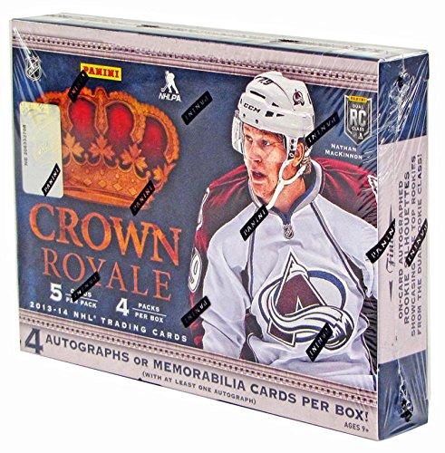 2013-14 Crown Royale Hobby Box - Yakupov, Hertl, MacKinnon, Jones,